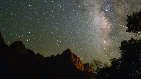 MilkyWay Over Zion